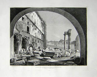 Views of Ancient Roman Architecture