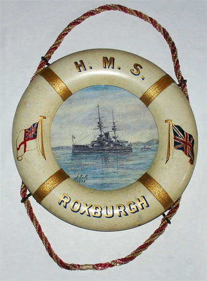 Souvenir of HMS Roxburgh