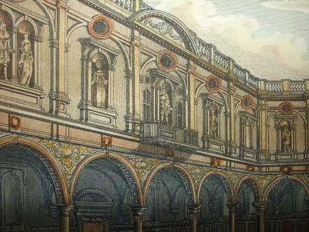 Interior of the Royal Exchange, London