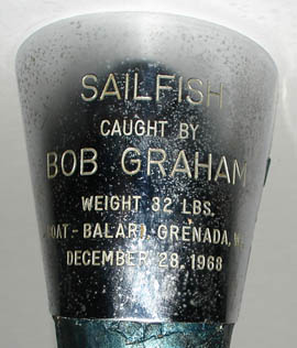 Natural History Specimen, Sailfish Bill