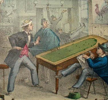 Detail of Billiards