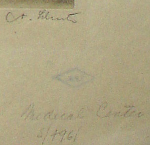 Columbia-Presbyterian Medical Center, N.Y. , inscription