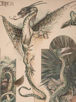 Art Nouveau Designs with Animal Motifs