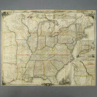 Sherman & Smith, United States Travelers' Map