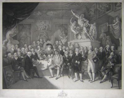 Royal Academy, London, 1802 Print