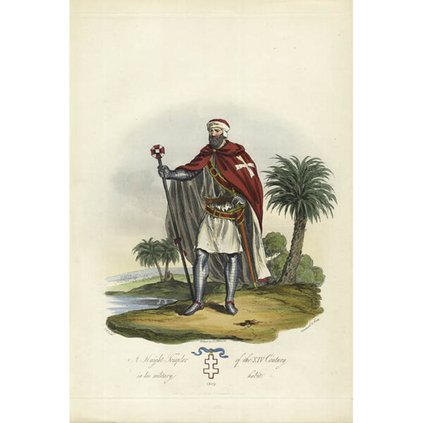 A Knight Templar of the XIV Century in his military habit