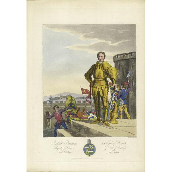 Richard Beauchamp, K.G. Earl of Warwick, Regent of France, Governor of Normandy, and Captain of Calais