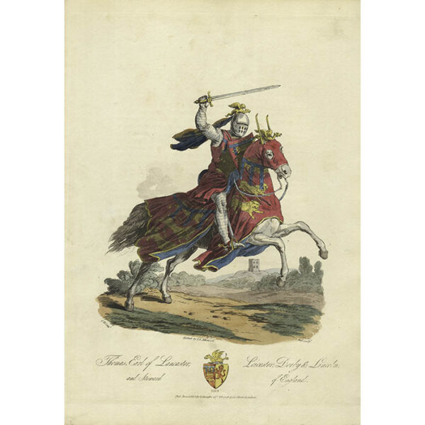 Thomas, Earl of Lancaster, Leicester, Derby & Lincoln, and Steward of England