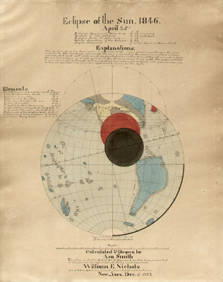 Eclipse of the Sun, 1846