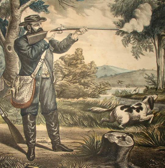 American Sporting Scene: Snipe Shooting