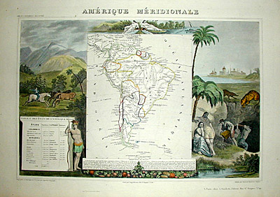 Amérique Méridionale [South America]