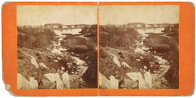 Central Park Stereo Card