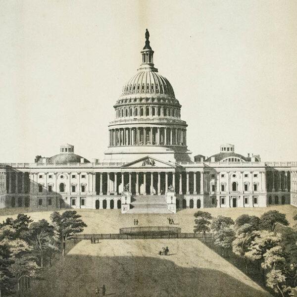 George Stinson & Co., U.S. Capitol, Washington, D.C., detail