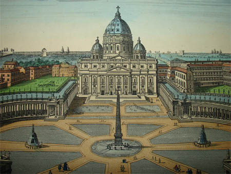St. Peter's Basilica and Piazza