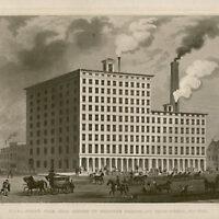 Steam Sugar Refinery, New York City