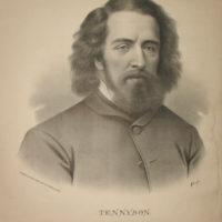 Large Portrait of Alfred, Lord Tennyson