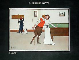 Humorous Billiard Prints