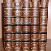 Books, The Works of William Makepeace Thackeray