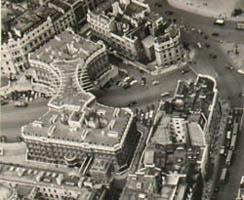 Trafalgar Square, detail