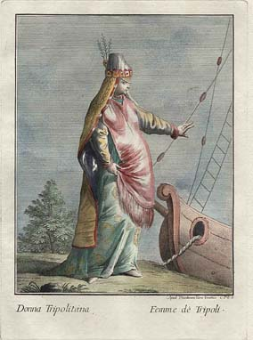 Ethnographic Costume Illustrations, Teodor Viero's Middle Eastern Costumes