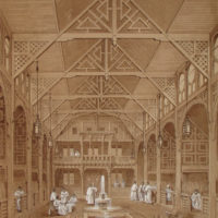 Interior of the Turkish Baths, Jermyn Street