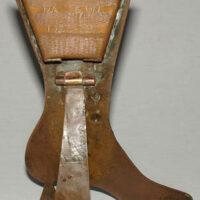 H.M.S. Valerian Brass Boot