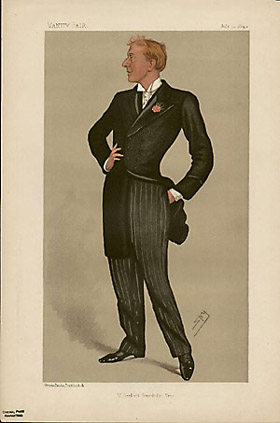 "Leslie ""Spy"" Ward Mr. Herbert Beerbohm Tree from Vanity Fair July 12, 1890"