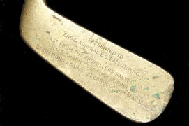 World War I Golf Club Relic