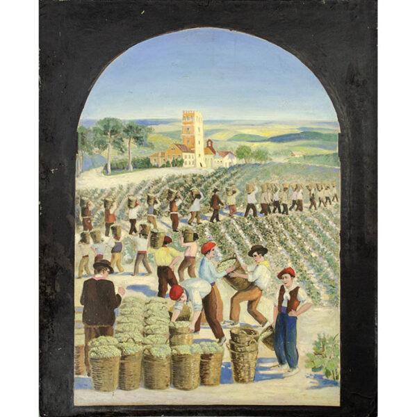 Vineyard Harvesters