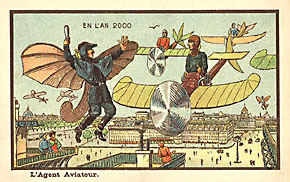Fanciful Depictions of Aviation in the Year 2000