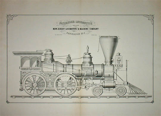 Transportation  Railroad Train  Art  Locomotives And Steam
