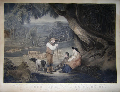 Le Berger Racontant Ses Malheurs [The Shepherd Relates His Misfortunes]