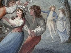 La Danse de Village [The Village Dance], detail