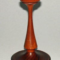 Candlestick, White House Relic Wood Pine