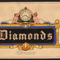 Diamonds — Electric Street Sign