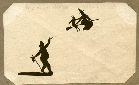 Witches Save Doctor from Death - Set of Silhouettes