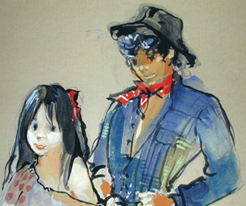 Costumes, Broadway, Gypsy Children