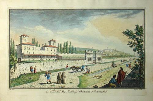 Villa del Sig'r Marchese Bartolini a Rovezzano