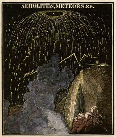 Smith's Illustrated Astronomy Aerolites, Meteors, &c.