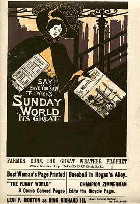 April 12, 1896 Sunday World Poster