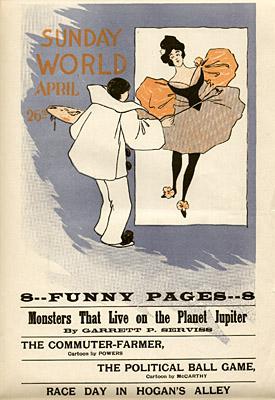 April 26, 1896 Sunday World Poster