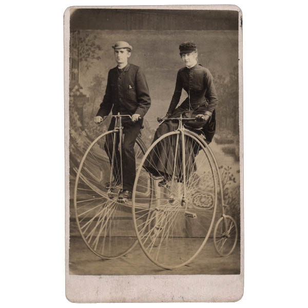 Penny-Farthing Bicycle Riders