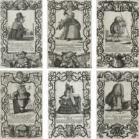 Il Callotto resuscitato [Callot Resurrected, or the Newly Furnished Cabinet of Dwarfs] Plates 13-18