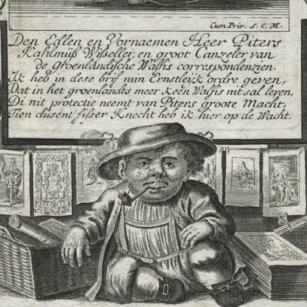 Il Callotto, Plate 13, detail