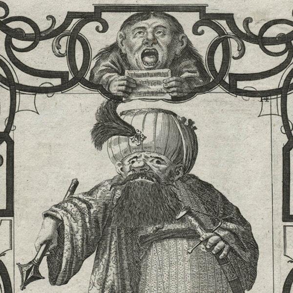 Il Callotto, Plate 14, detail