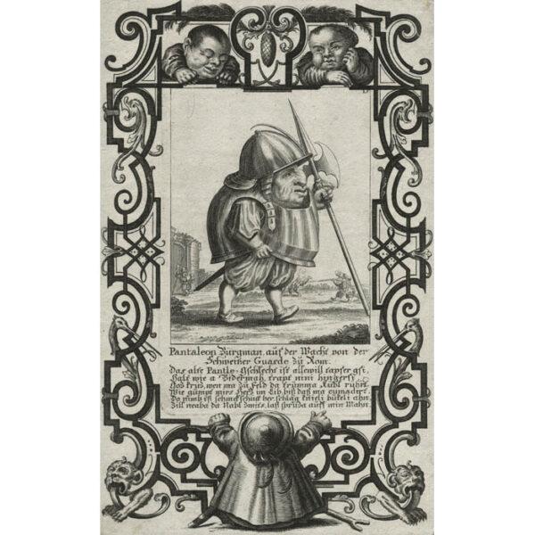 Il Callotto, Plate 15, Pantaleon Bürgman