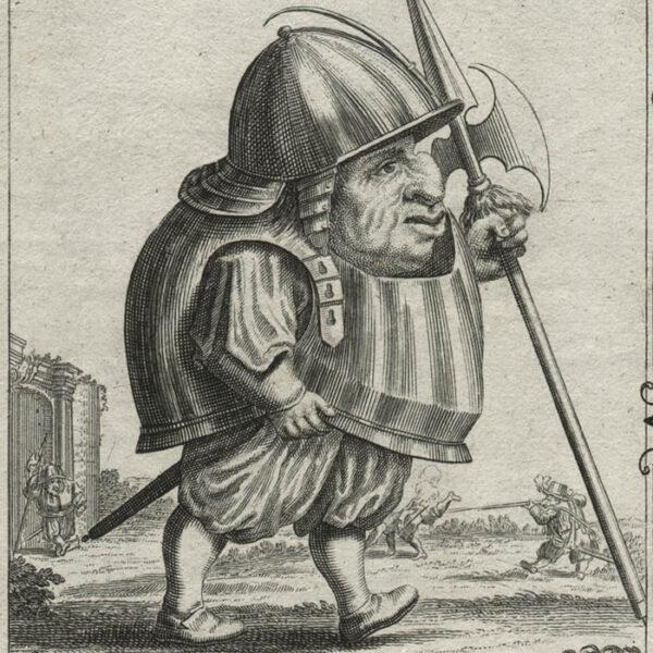 Il Callotto, Plate 15, detail