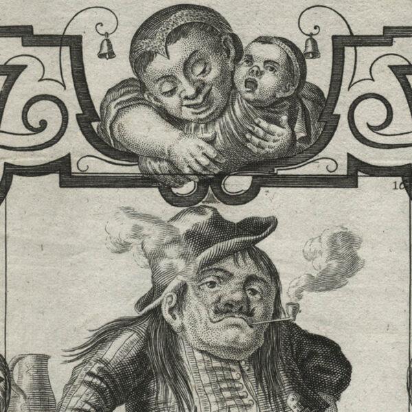Il Callotto, Plate 16, detail