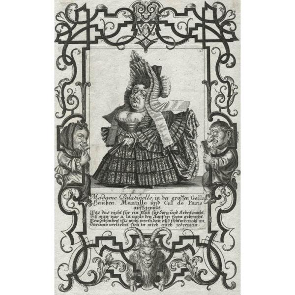 Il Callotto, Plate 17, Madame Palatinelle