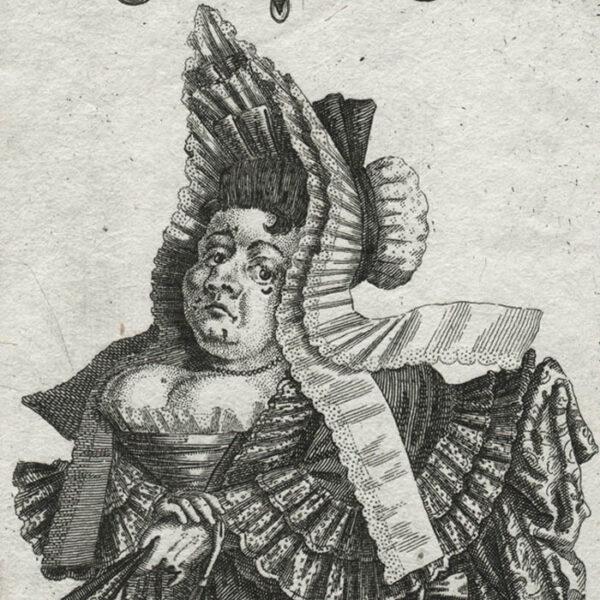 Il Callotto, Plate 17, detail